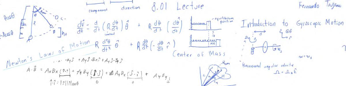 Fernando Trujano's notes